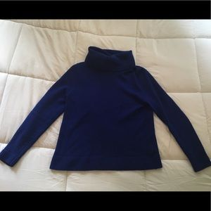 J. Crew Cobalt Blue cowl neck sweater Medium